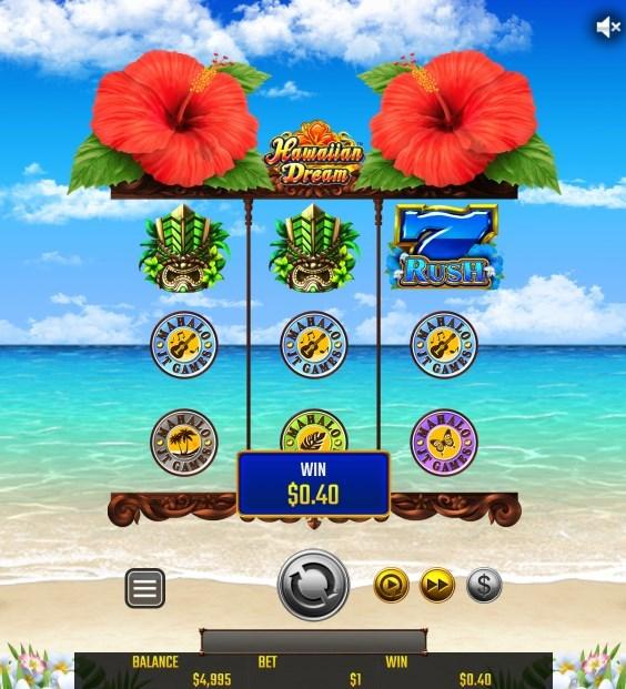 Japan Technical Games(ジャパン・テクニカル・ゲームズ)社が開発する『Hawaiian Dream(ハワイアン・ドリーム)』