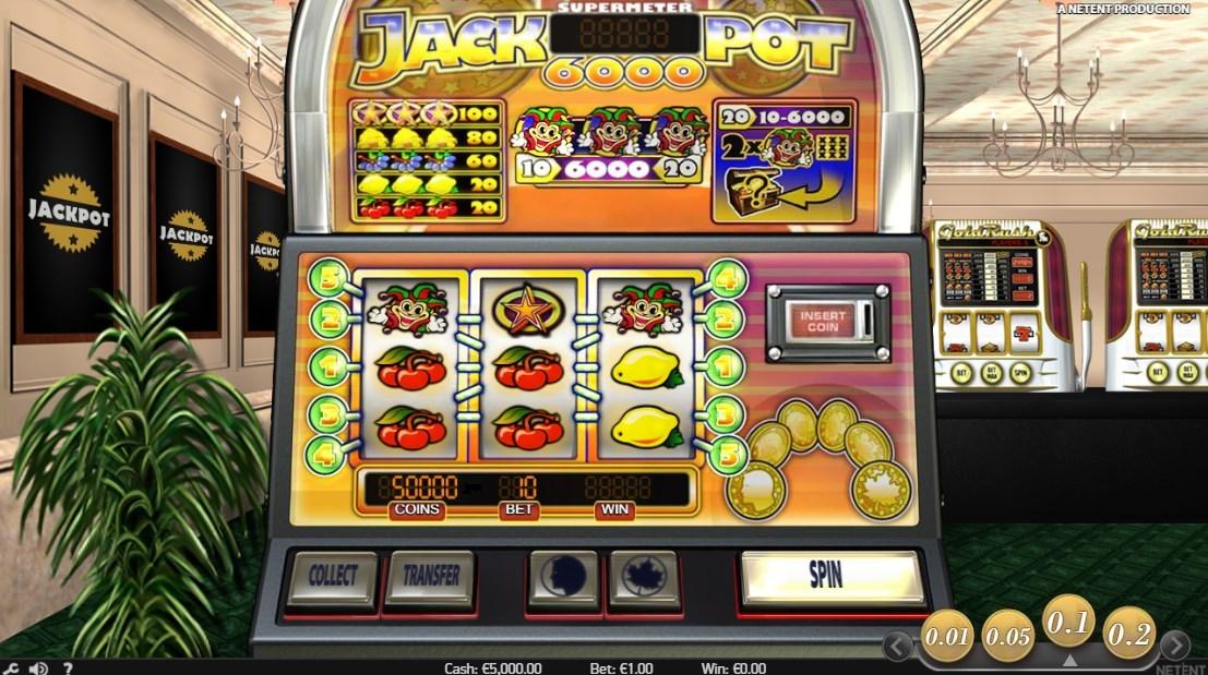 Jack Pot 6000(ジャックポット・6000)のペイアウト率は『98.9%』