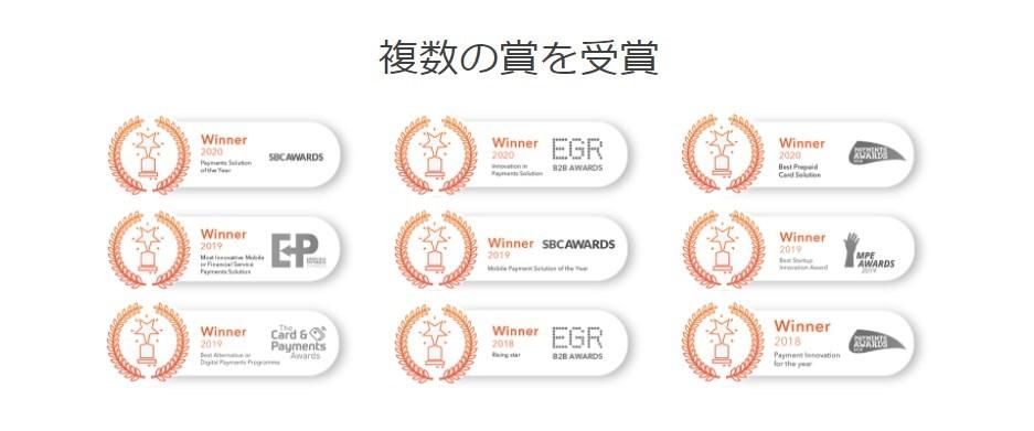 マッチ・ベターはサービス開始後、様々な賞を受賞しています。