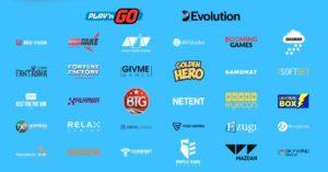 カジノシークレットは30社以上のゲームプロバイダーと契約をしている